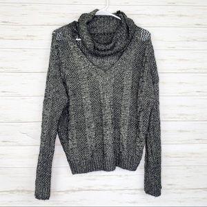 Urban Outfitters | Chunky Knit Choker Sweater